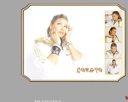 Fergie - Wallpaper - black-eyed-peas Wallpaper