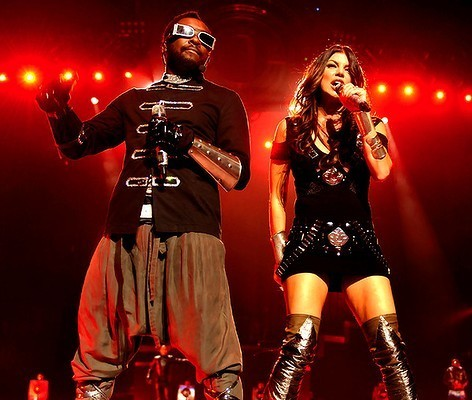 fergie and Will.I.Am. - show, concerto