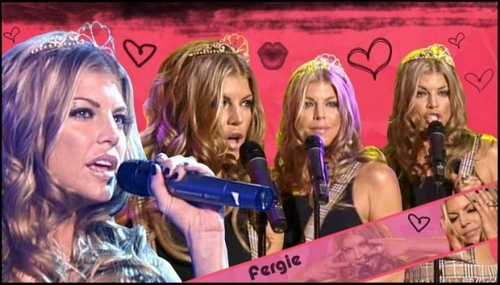 Black Eyed Peas wallpaper probably containing a portrait entitled Fergie