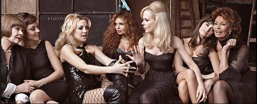 Fergie with Co-Stars from Nine
