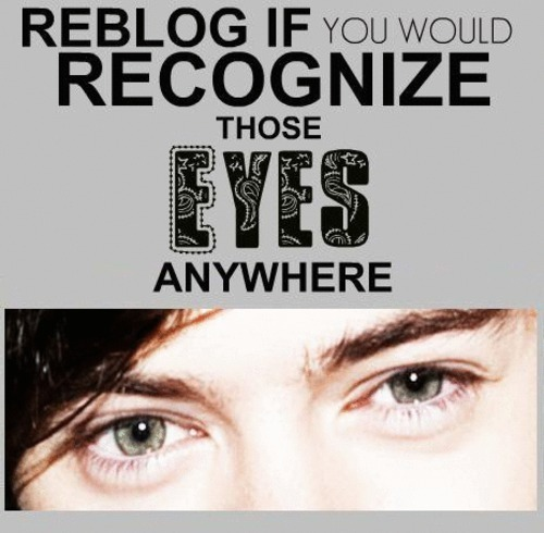 Flirt Harry (I'm Rebloging Cuz I Wud Reconize Those Goregous Eyes Anywhere) 100% Real :) ♥