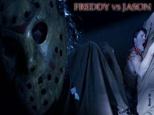 Friday the 13th wallpaper entitled Freddy vs Jason