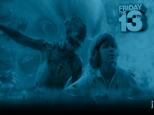 Friday the 13th wallpaper probably with a fountain titled Friday the 13th (1980)