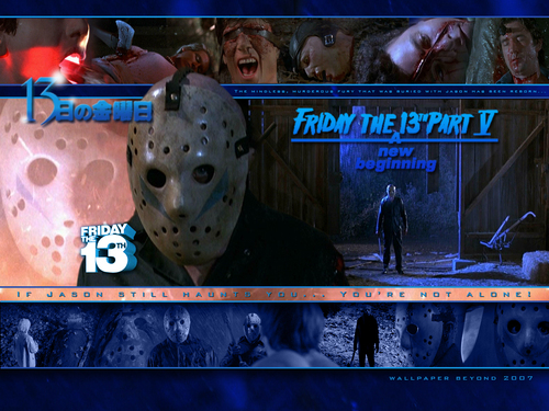 Friday the 13th: A New Beginning - friday-the-13th Wallpaper