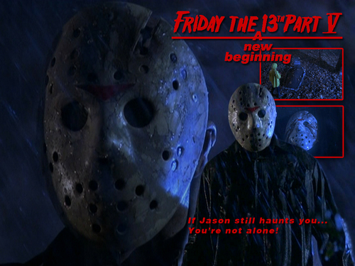 Friday the 13th wallpaper titled Friday the 13th: A New Beginning
