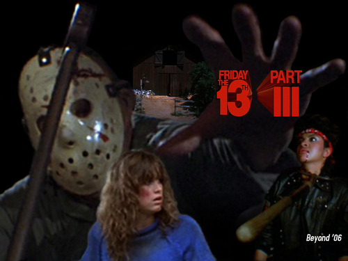 13日の金曜日 壁紙 entitled Friday the 13th Part 3