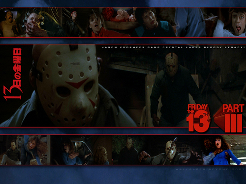 Freitag, der 13. Hintergrund entitled Friday the 13th Part 3