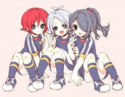 Fubuki, Hiroto e Kazemaru 1