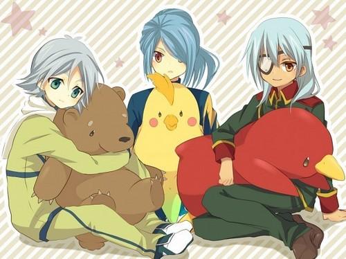 Fubuki, Kazemaru e Sakuma 1
