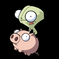 GIR AND HIS PIG - gir photo