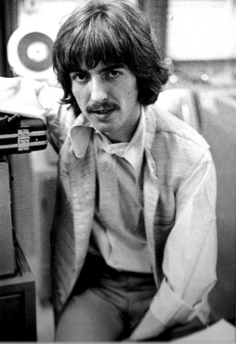 George Harrison wallpaper possibly containing a turntable, a business suit, and a sign called George Harrison