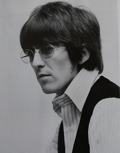 George Harrison wallpaper probably containing a business suit titled George Harrison
