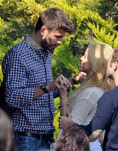 Gerard Piqué said Shakira: Will you marry me?