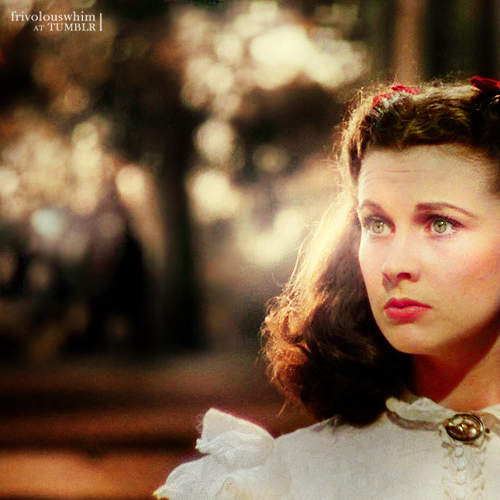 Vivien Leigh wallpaper possibly with a street and a portrait entitled Gone With the Wind