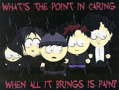 South Park kertas dinding with Anime entitled Goth Stan