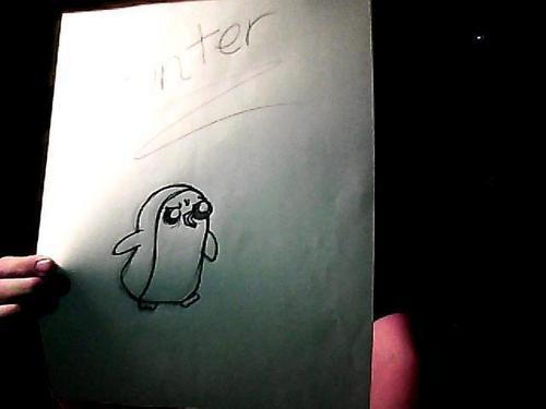 Gunter( ice kings پینگوئن, پیںگان :) )
