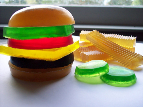 Hamburger Soap