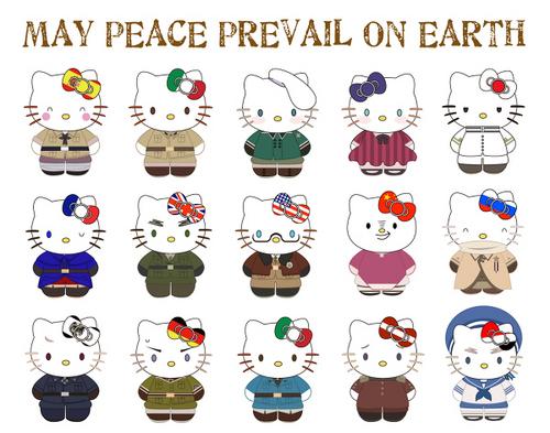 Hello Kitty Countries