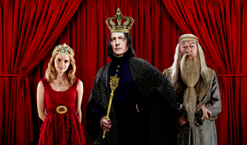 Hermione, Snape and Dumbledore rule!