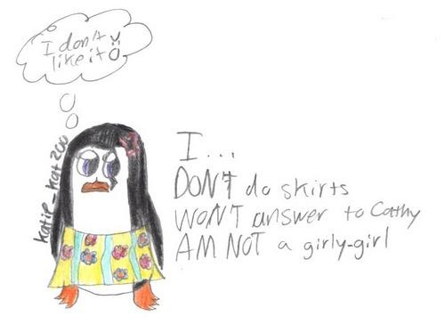 I DON'T do skirts...
