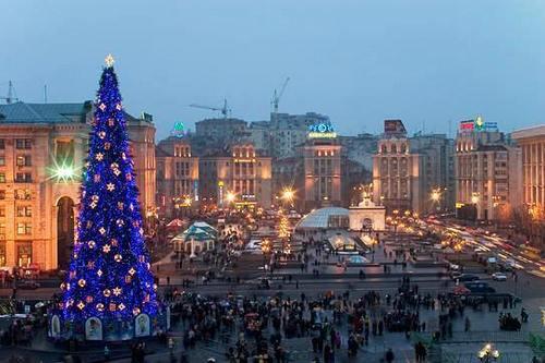Independence Square (Maidan Nezalezhnosti), Kiev