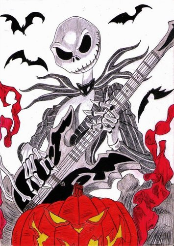 Jack Skellington wallpaper with anime called Jack Skellington