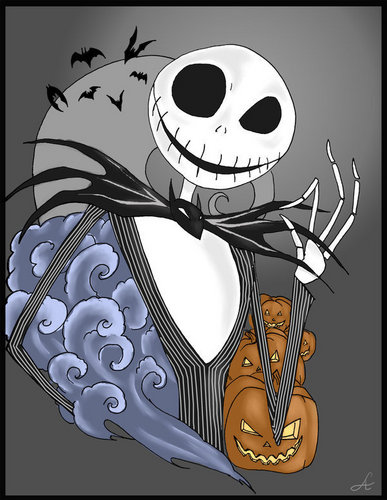 Jack Skellington wallpaper probably containing anime called Jack Skellington
