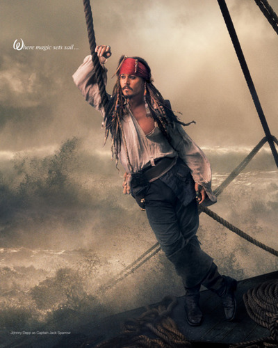 Pirates of the Caribbean wallpaper probably with a rifleman called Jack Sparrow