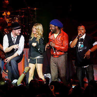 Justin Timberlake with Black Eyed Peas