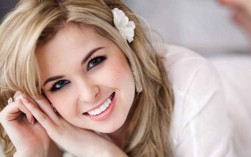 Kirsten Prout wallpaper containing a portrait titled Kirsten Prout Wallpapers