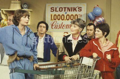 Laverne & Shirley wallpaper called Laverne & Shirley Supermarket Sweep