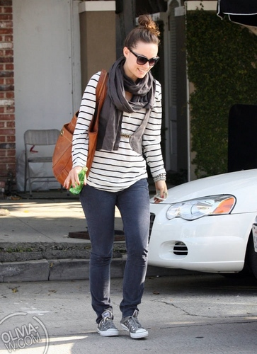 Leaving Largo Theater in LA [April 19, 2011]