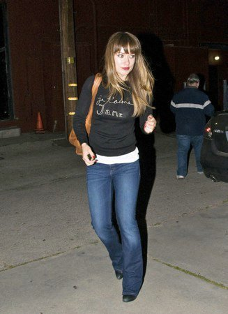 Leaving Largo Theater in LA [April 20, 2011]