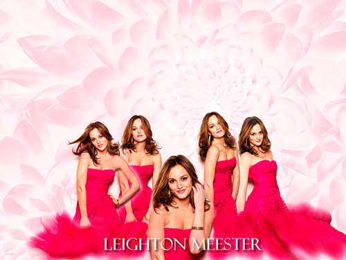 Leighton Meester - gossip-girl Wallpaper