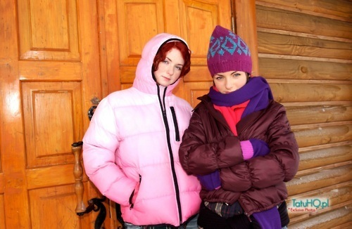 Lena and Yulia Mountain foto Shoot