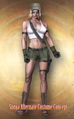 MK 9 Alternate costume concept