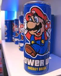 Mario Energy Drink at Hot Topic