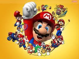 Mario over the years