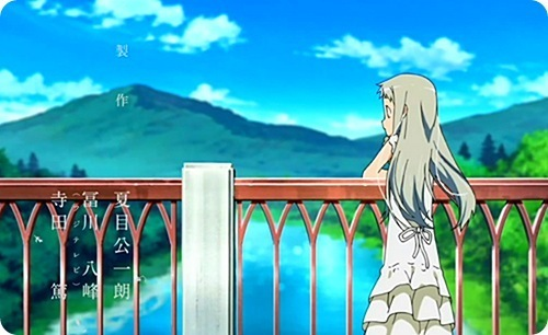 AnoHana wallpaper called Menma Blue Skies