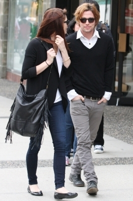 More photos of Ashley and Jackson out and about in Vancouver