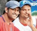 Sanu with Mahi - suresh-raina photo