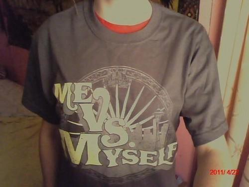 My Me Vs. Myself Shirt - MW