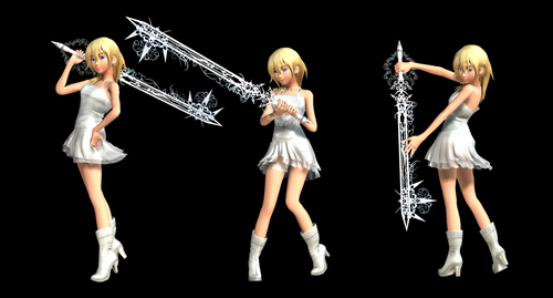 Namine with sword