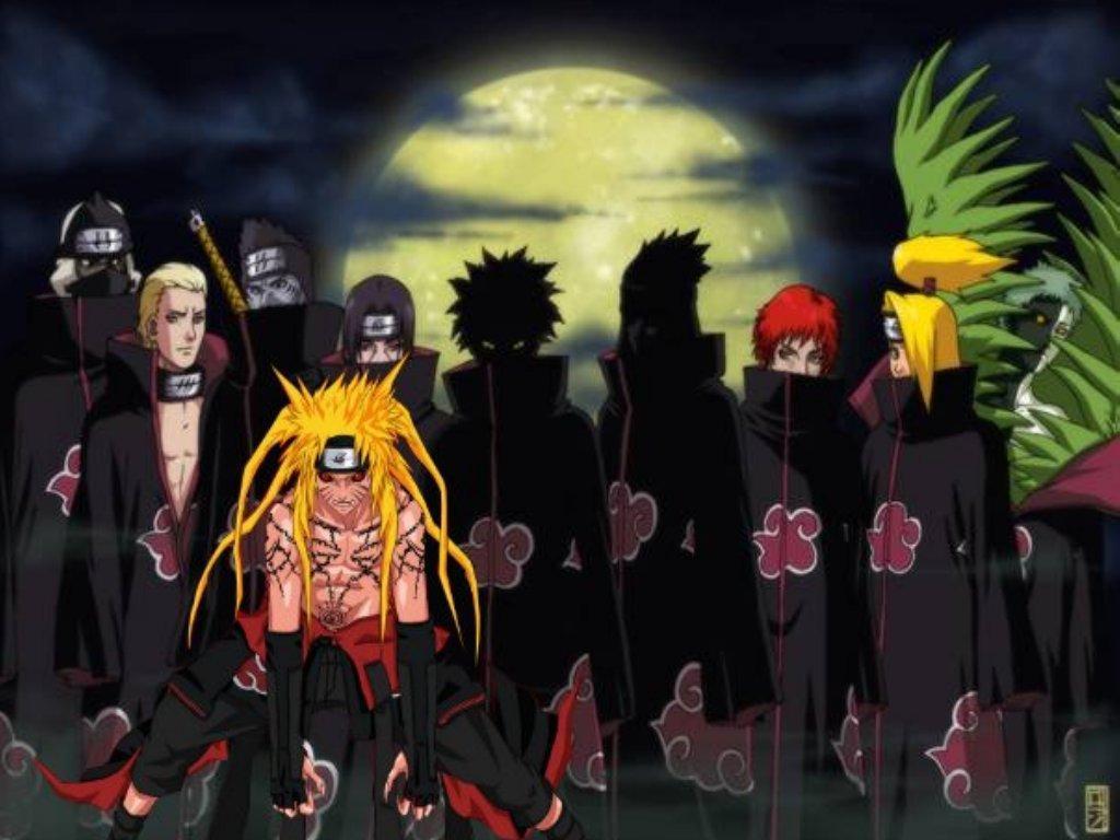 Naruto Afbeeldingen Naruto In The Akatsuki Hd Achtergrond And