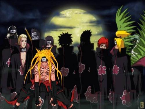 Naruto in The Akatsuki