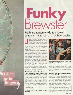 paget brewster wallpaper possibly with a velocípede and a tênis racket called OK Magazine Scans