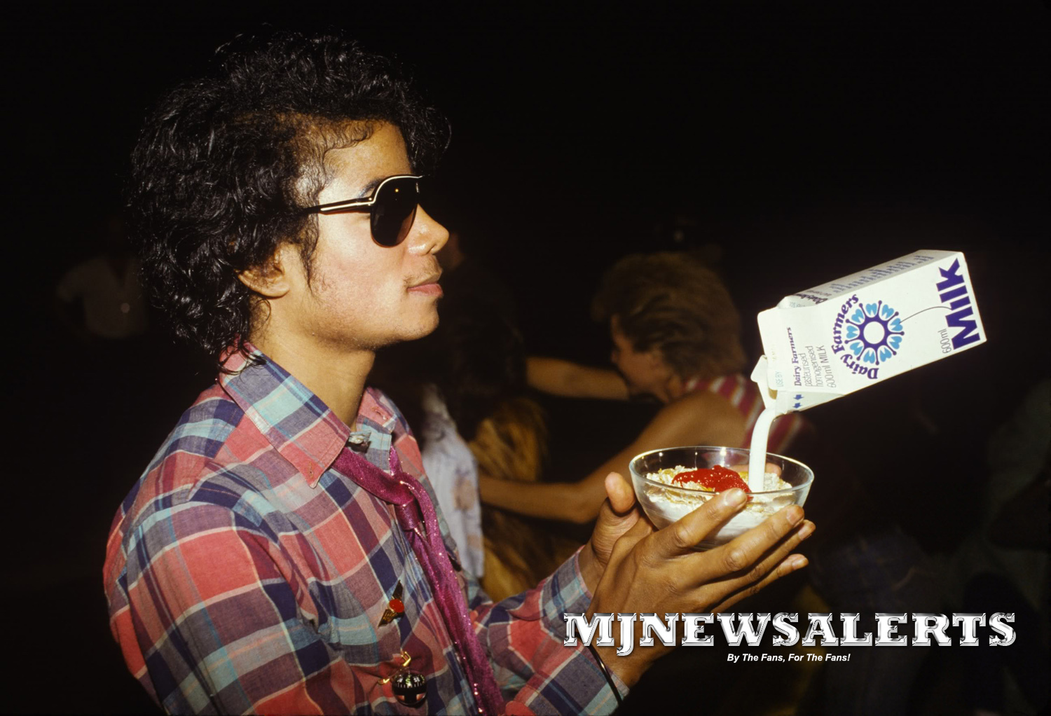 On the set of captain Eo HQ