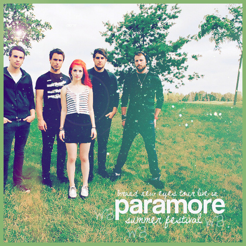 paramore Fanmade Single Covers