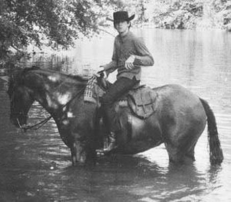 Paul McCartney wolpeyper with a horse trail and a horse wrangler entitled Paul McCartney