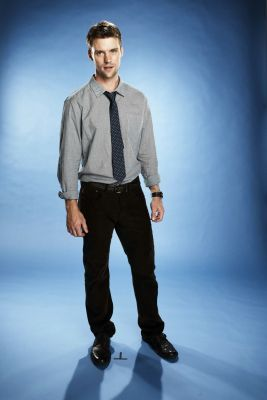 Photoshoot of Jesse as Dr. Robert Chase in the seventh season of HOUSE.